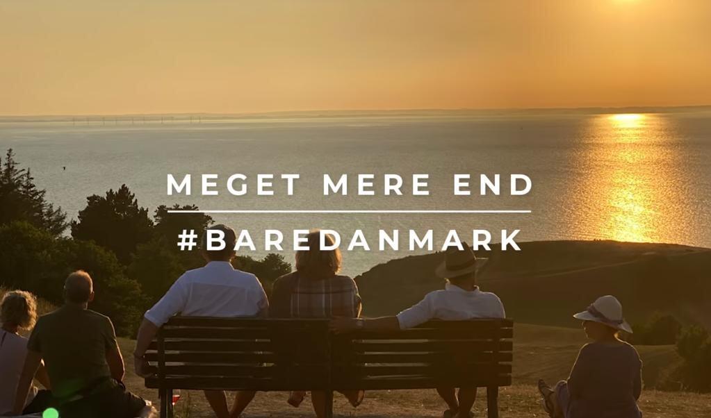 """Kampagnen """"Meget mere end bare Danmark"""" skal igen få danskerne på efterårsferie i eget land.   ( Skærmbillede)"""