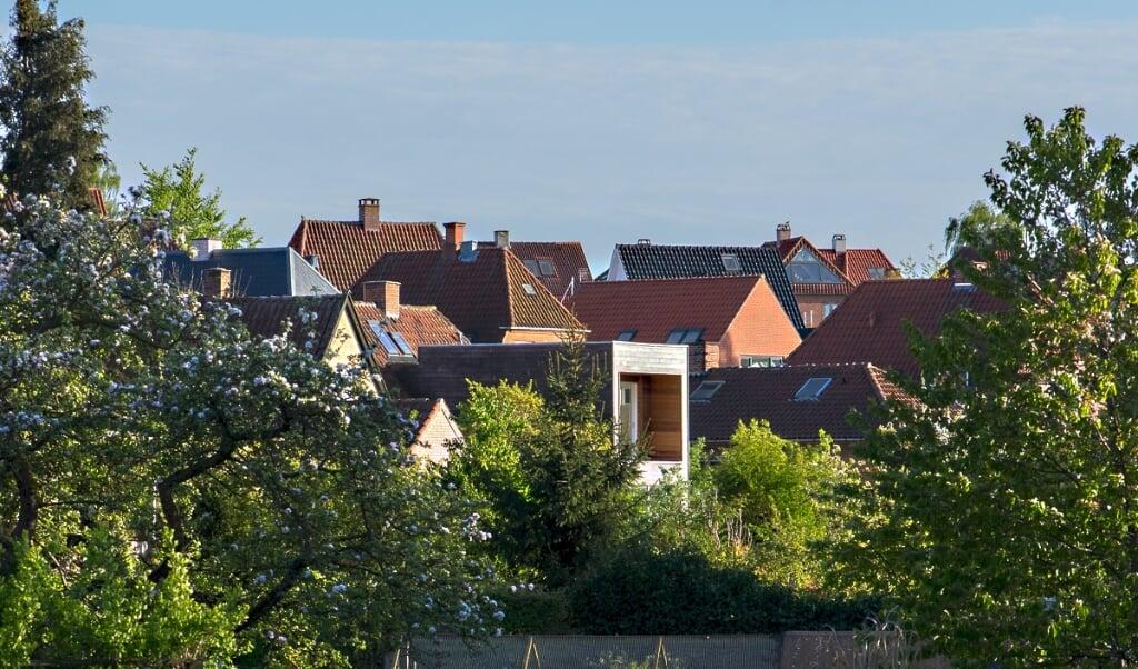 Der er historisk få boliger til salg i hele Danmark viser tal fra Boligsiden.   (Arkivfoto)