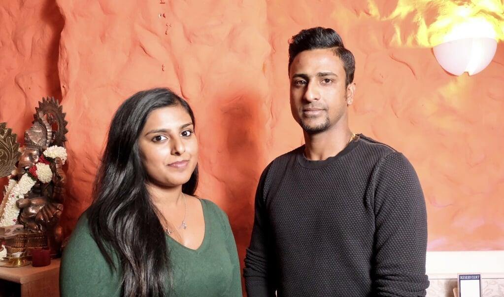 Thilip Sata og Vasanthana Rava driver restaurant Himalaya i Flensborgs Centrum. De har nyt godt af corona og haft stigende omsætning og indtjening, da deres take away-forretning går strygende.  Sebastian Iwersen  (Sebastian Iwersen                                                                                                                                                                                                                                              )