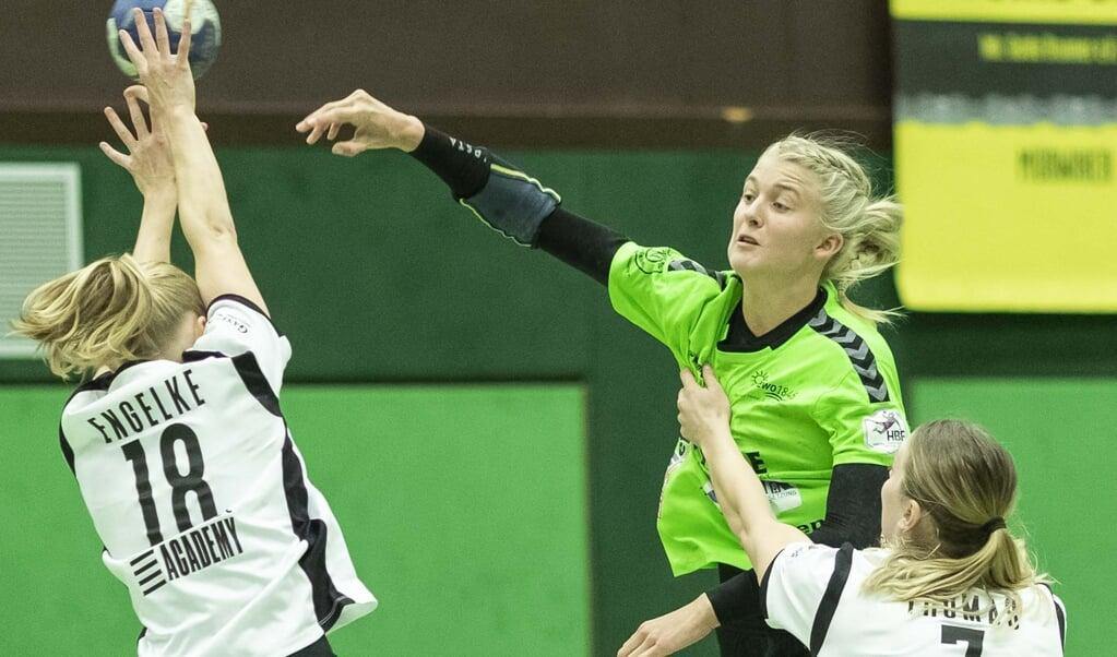 Lotta Woch war die erfolgreichste Werferin der Nordfrauen bei der Niederlage gegen den SV Werder Bremen.  ( Lars Salomonsen)