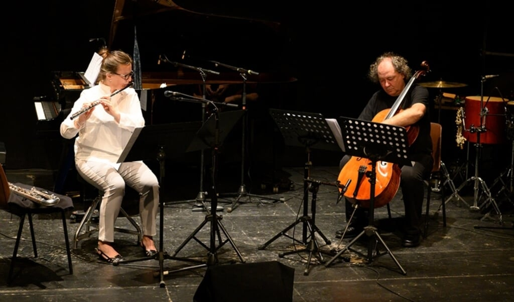 Das Duo Reflexion K mit Beatrix Wagner und Gerald Eckert bei einem Konzert im vergangenen Jahr.   (Txuca Pereira)