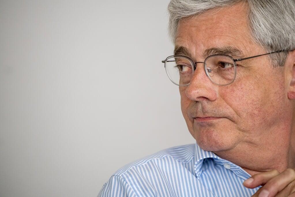 Generalsekretær i Sydslesvigsk Forening Jens A. Christiansen ønsker medindflydelse på den fortælling om mindretallet, som Grænseforeningen formidler til den danske befolkning.    (Martin Ziemer)