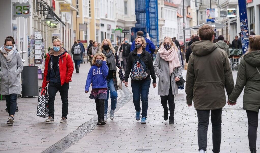 Tirsdag var Flensborg kommunen med det laveste incidenstal blandt kommuner og amter i Tyskland.  (Archivfoto: Sven Geißler)