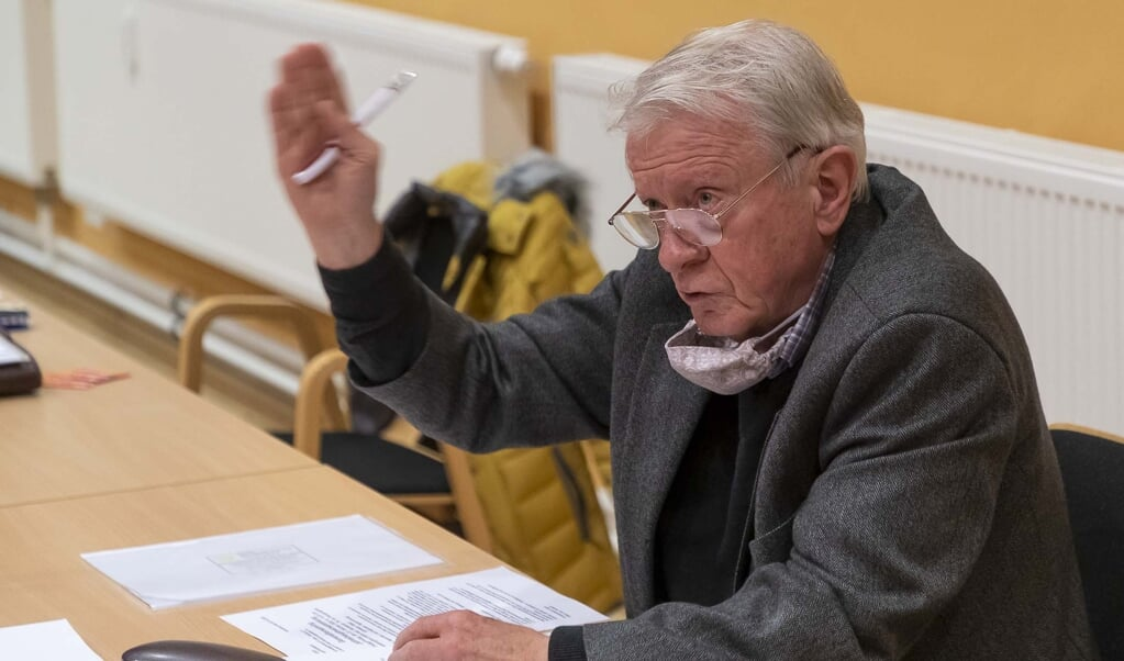 Dieter Lenz ses her ved DGFs seneste generalforsamling. Arkivfoto:   (Lars Salomonsen)