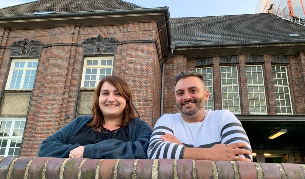 Hier, am Flensburger Bahnhof, lernten sich Melissa und Bilal El-Tawil während einer turbulenten Zeit kennen.   ( Lennart Adam)