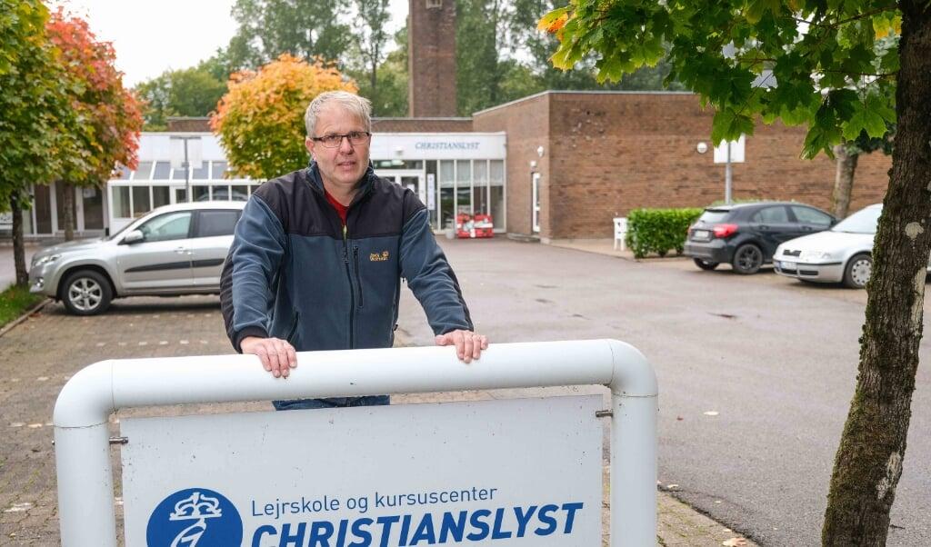 Christianslyst får ikke flere gæster i år, men driftleder Denis Löhndorf ser fremad.  ( Sven Geißler)