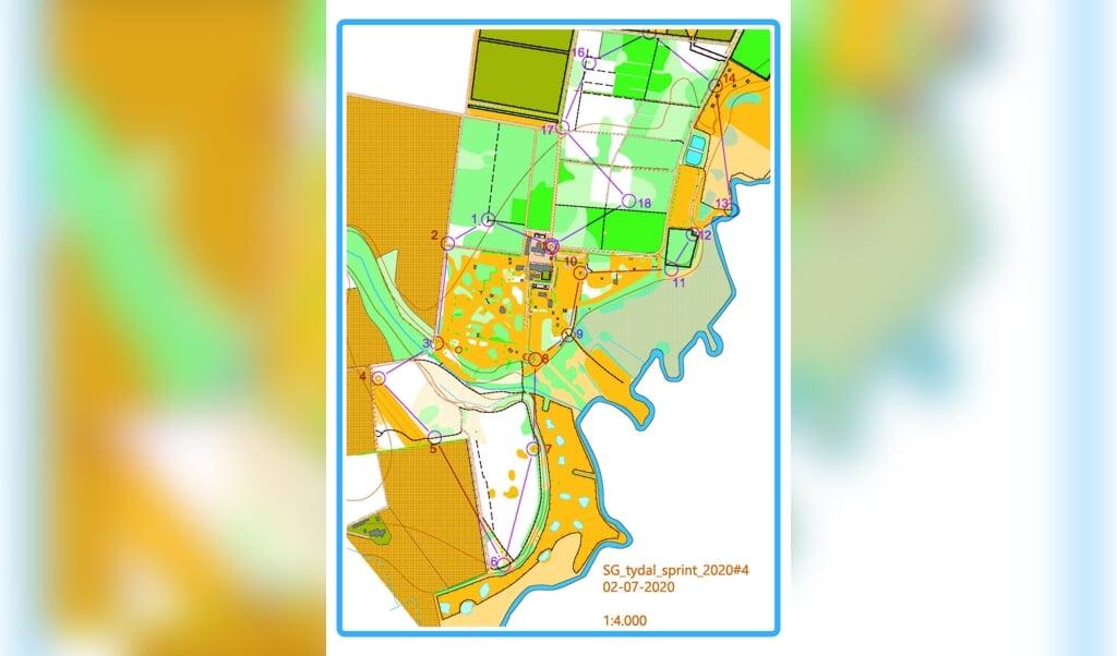 På søndag bliver der mulighed for at prøve kræfter med et ægte orienteringsløb på Spejdergården Tydal.  (Arkivfoto)