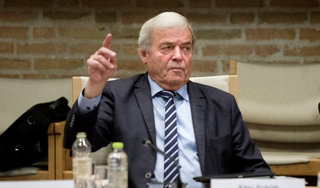 Når Aabenraa Kommunes byråd samles onsdag, repræsenterer Ejler Schütt ikke Dansk Folkeparti. Han har meldt sig ud og er blevet løsgænger.   ( Arkivfoto: Jacob Schultz, JydskeVestkysten)