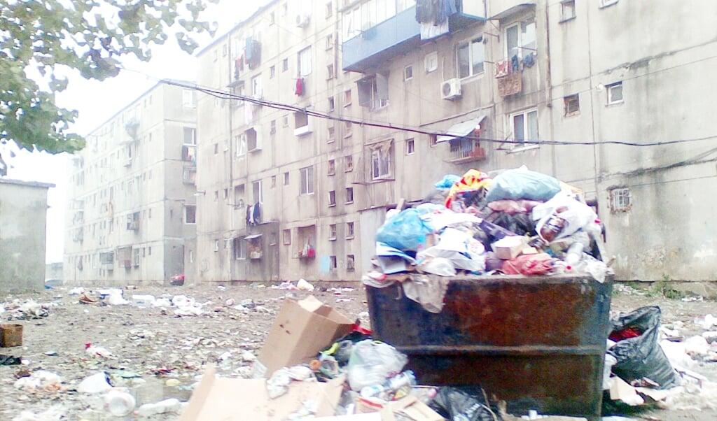 Mange romaer i Østeuropa bor i ghettoer og har haft svært ved at overholde kravene om afstand eller isolation.  ( Arkivfoto)