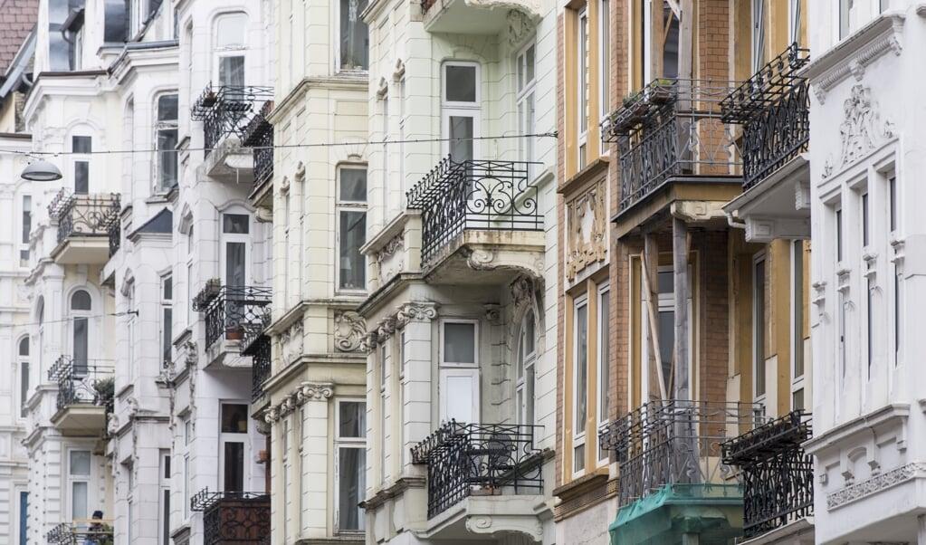 Ejendomspriserne i Flensborg er steget med fem til ti procent om året de sidste tre år.  (Arkivfoto: Martin Ziemer)