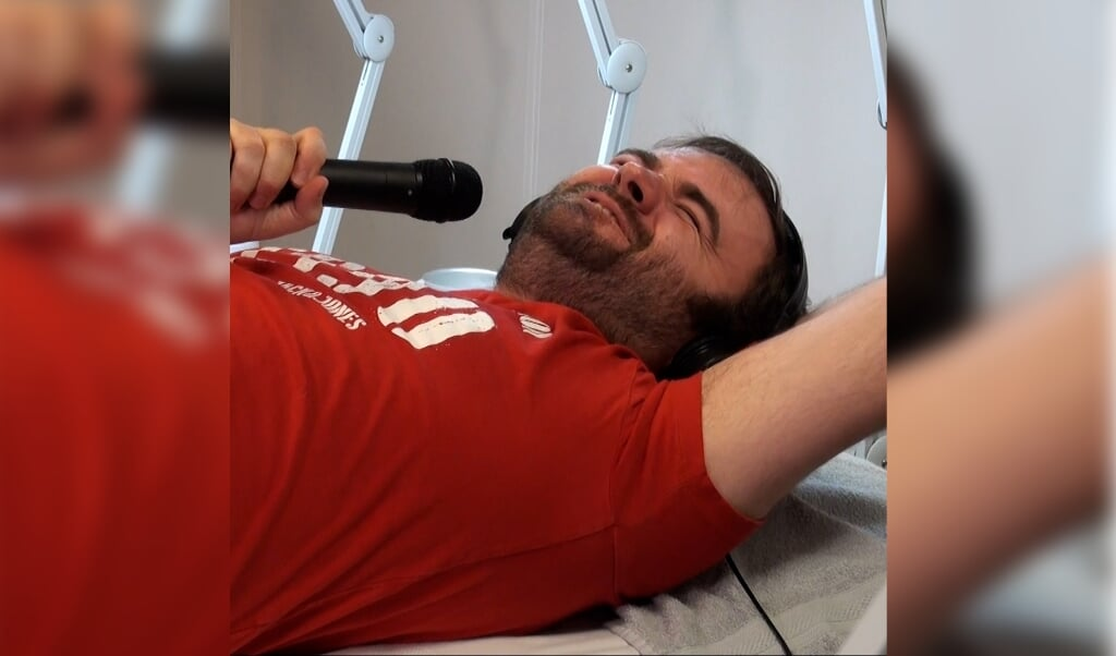 Det var smertefuldt for Andreas, da han skulle have fjernet uønsket behåring omkring de ædlere dele.   (Fotos: Skala FM)