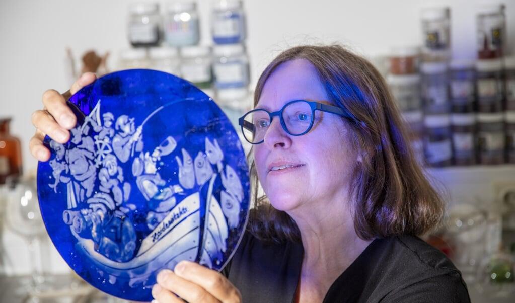 Lys og glaskunst er to sider af samme sag for kunstneren Anne Wenzel.   ( Tim Riediger)