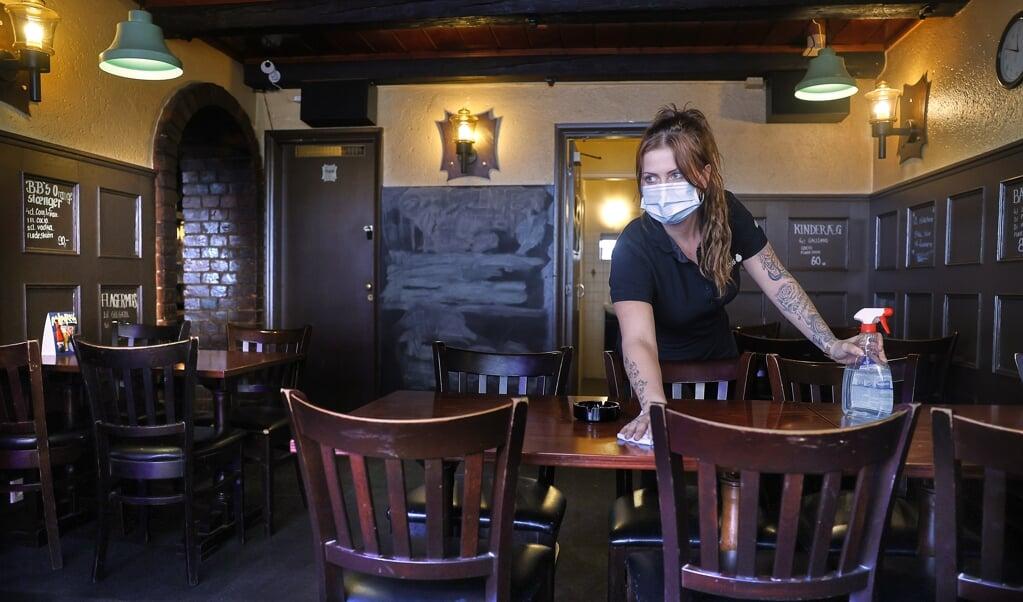 Mange minijobber arbejder bland andet i gastronomien. Her er kvinder blevet særligt ramt i coronakrisen.  ( Claus Bjørn Larsen)