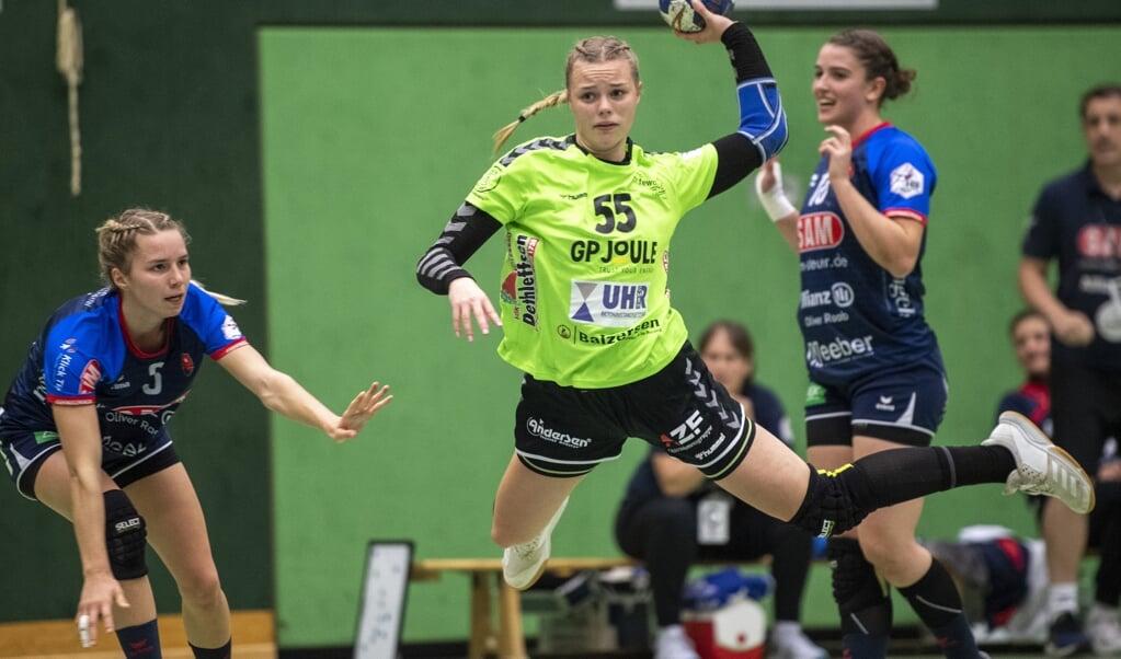 Tabea Schlemann wird den Nordfrauen mit einem Handbruch länger fehlen.  ( Tim Riediger)