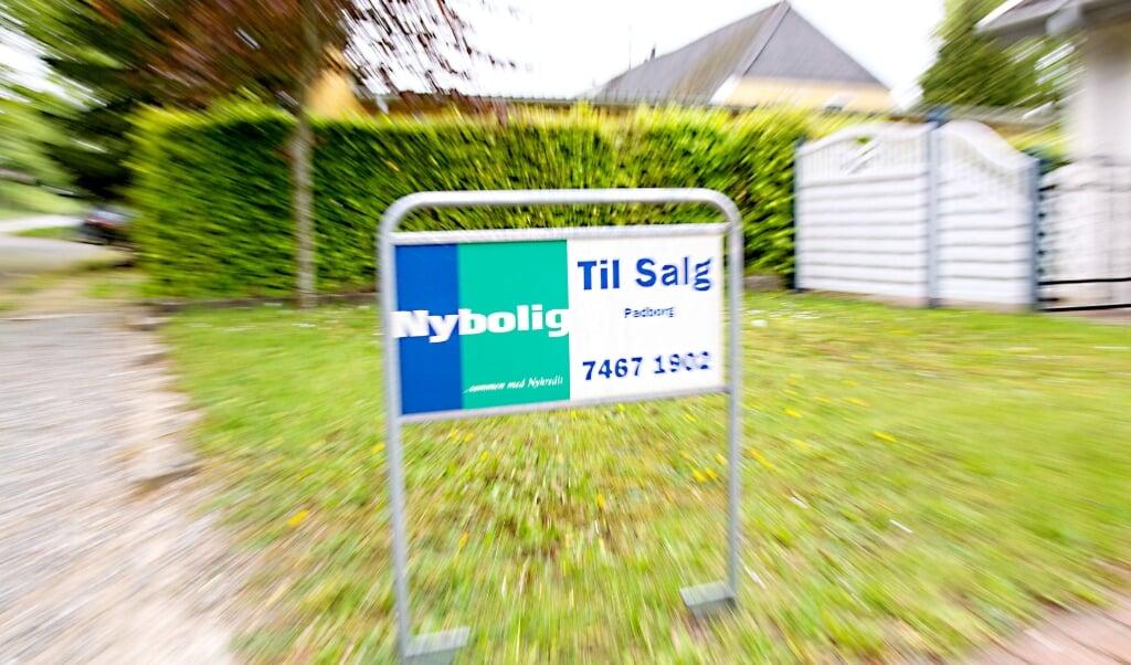 Også boliger med lange liggetider bliver solgt i Danmark. Arkivfoto:  (Lars Salomonsen/BorderPress.dk)