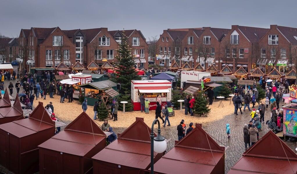 I år bliver det ikke muligt at opleve julemarkedet i Harreslev. I kommunen bliver der dog arbejdet på en alternativ mulighed, der skal sikre en festlig stemning på torvemarkedet i juletiden.  (Arkivfoto: Rolf Warnke)