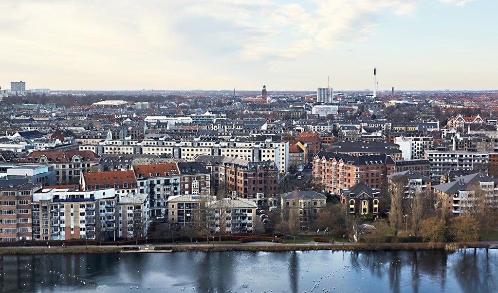 Priserne på villaer og rækkehuse er steget igen i marts måned.  (Arkivfoto)