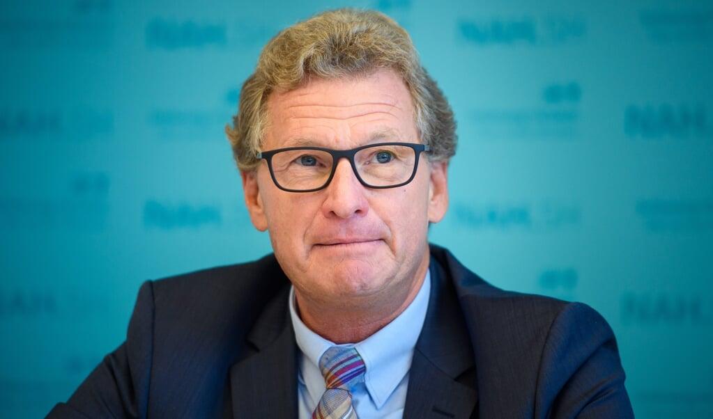 Ifølge erhvervsminister Bernd Buchholz kan der være muligheder ved at arbejde tættere sammen med Syddanmark.  ( Gregor Fischer/dpa)