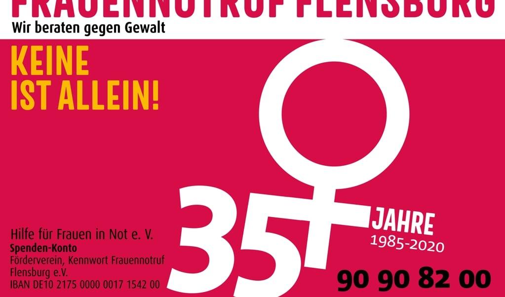 Seit 35 Jahren in Notsituationen zur Stelle: der Flensburger Frauennotruf.   (Frauennotruf Flensburg)