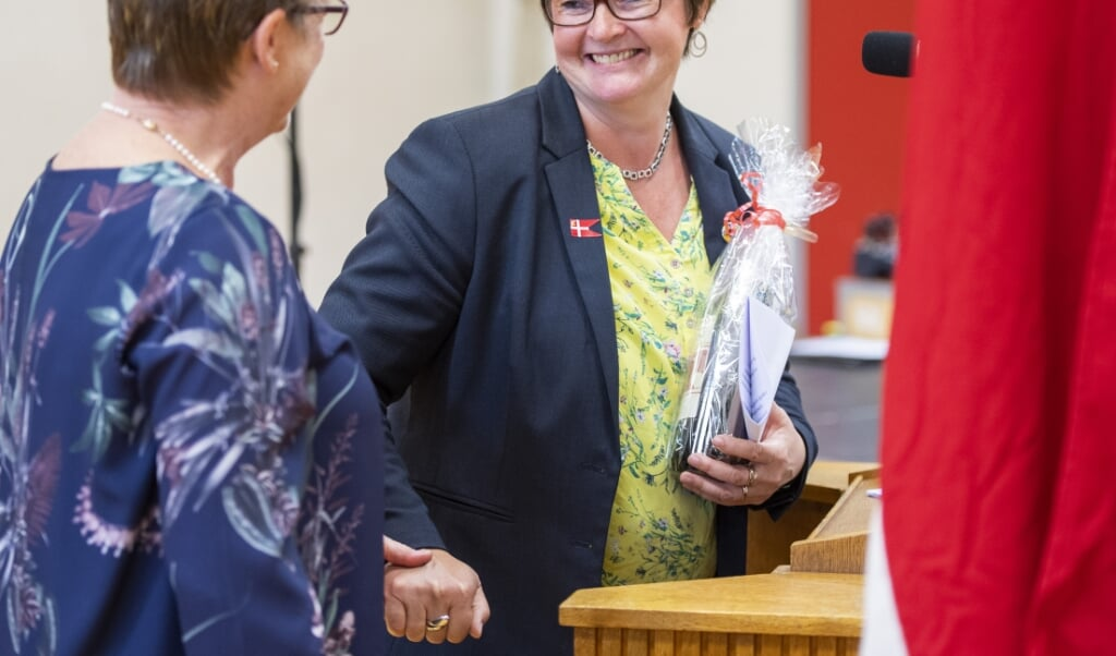Medlem af Folketinget og Sydslesvigudvalget Anni Matthiesen (V) har internt i partiet lagt pres på for at prioritere mindretallet på Venstres finanslovsudspil.   ( Tim Riediger)