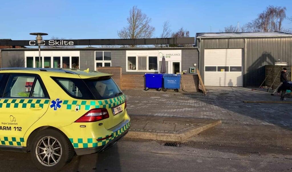 Den nye teststation i Tønder åbner i industrikvarteret på tirsdag. Desværre kan børn under 12 år af tekniske årsager ikke blive testet på stationen - ind til videre på ubestemt tid.  ( Martin Franciere)