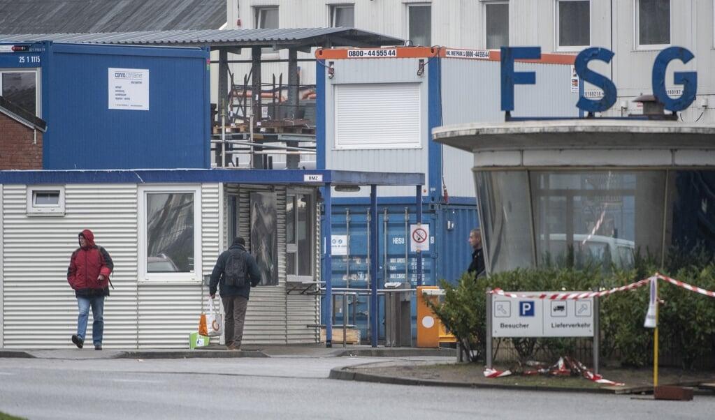 Die Flensburger Werft soll zukünftig bei Vergabeverfahren der Marine berücksichtigt werden.  ( Tim Riediger)