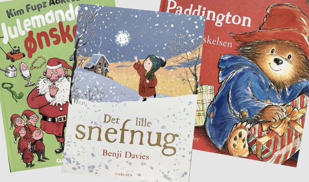Julebøger til de små  ( Grit Jurack)