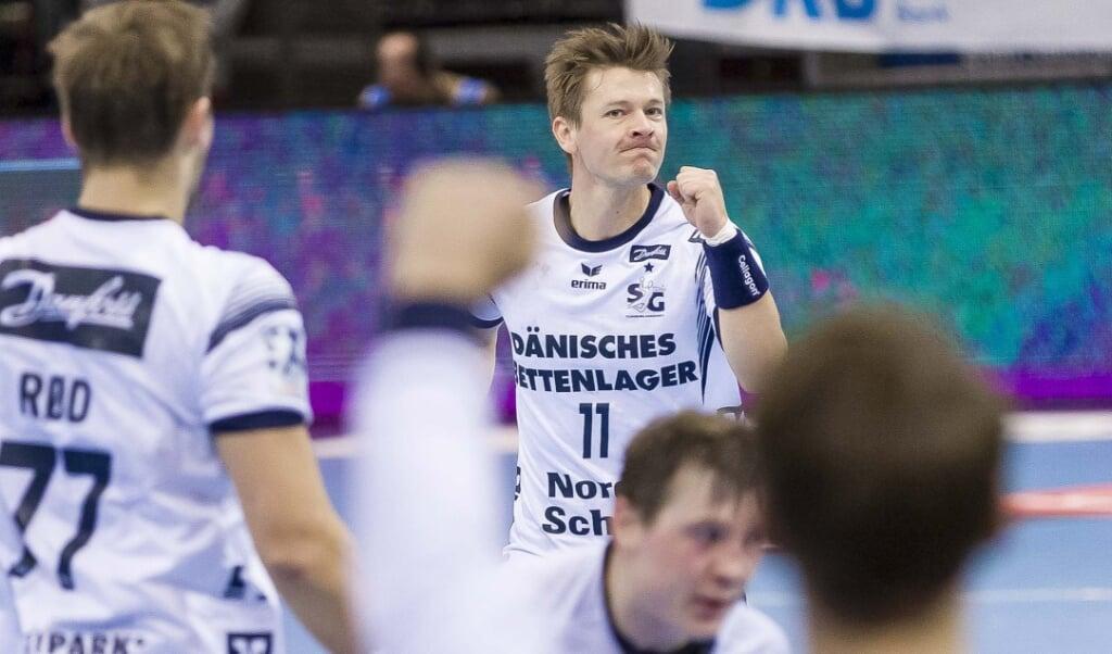 Lasse Svan hält große Stück auf Maik Machulla.   ( Lars Salomonsen)
