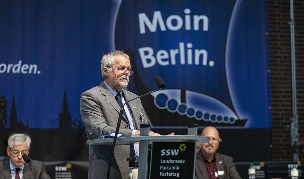 SSW vil til Berlin, men landsmødet, hvor der skulle sættes navn på spidskandidaten, er nu udskudt til 6. marts.   ( Lars Salomonsen)