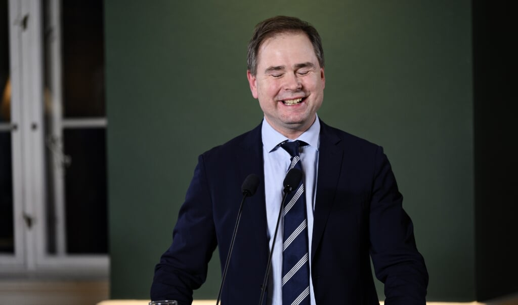 Finansminister Nicolai Wammen (S) går på forældreorlov frem til 5. februar.  (Philip Davali/Ritzau Scanpix)