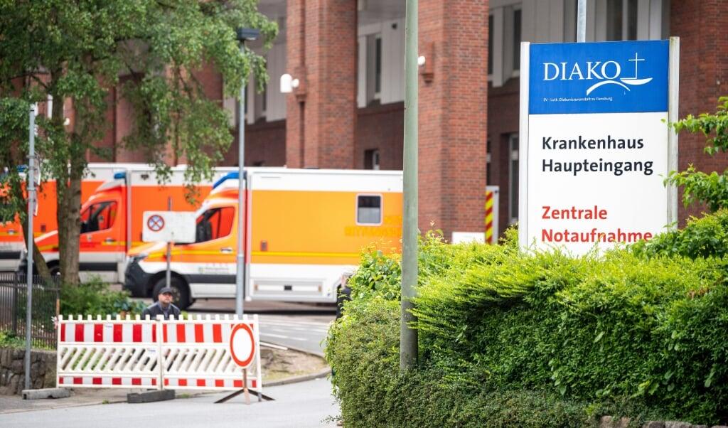 Svindlerne udgiver sig for at være læger på Franziskus-sygehuset eller Diako-hospitalet i Flensborg. Arkivfoto:   (Kira Kutscher)