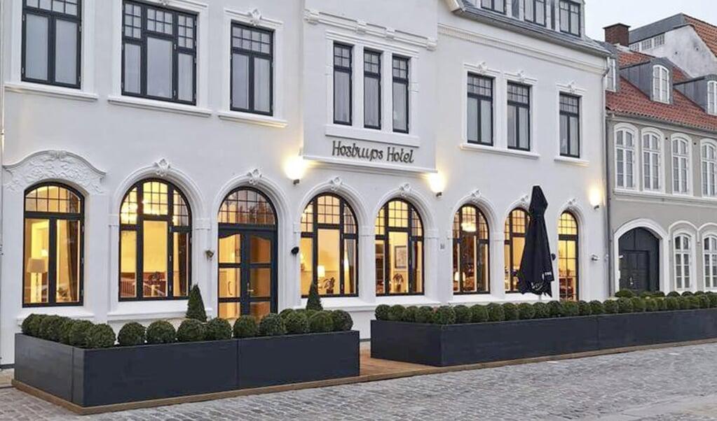 Hostrups Hotel - en institution i Tønder.  (Arkivfoto)