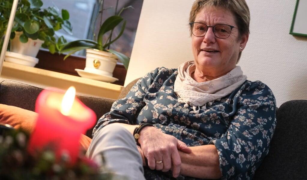 Formand i SSF i Harreslev, Kirsten Anthonisen, håber, at fælles udstillingen med alle mindretals foreninger bliver til noget i næste år.  ( Sebastian Iwersen)