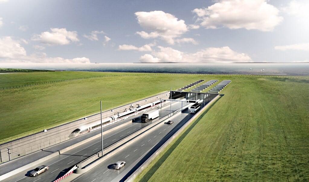 Den 3. november blev det endegyldigt klart, at den faste forbindelse mellem Danmark og Tyskland i form af en tunnel under Femer Bælt vil blive gennemført. I en dom afviste den højeste tyske forvaltningsdomstol, Bundesverwaltungsgericht, samtlige klager mod projektet. Det er planen, at den nye tunnel fra 2029 skal forbinde Lolland med Femern.   (dpa/ICONO A)