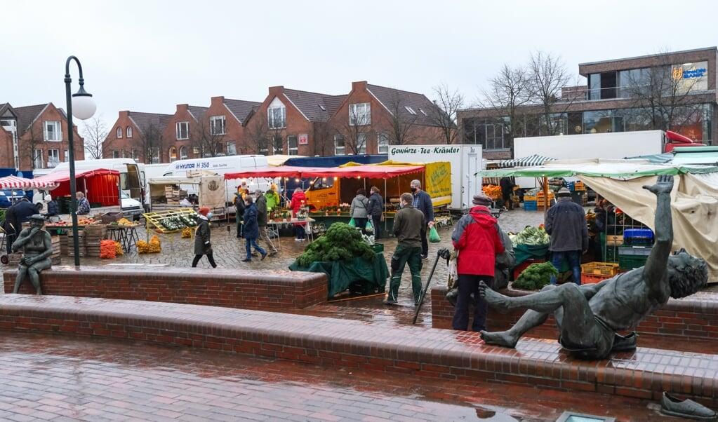Das Zentrum von Harrislee ist Teil des Gebietes, welches das Städtebauförderungsprogramm umfasst.  (Archivfoto: Sven Geißler)