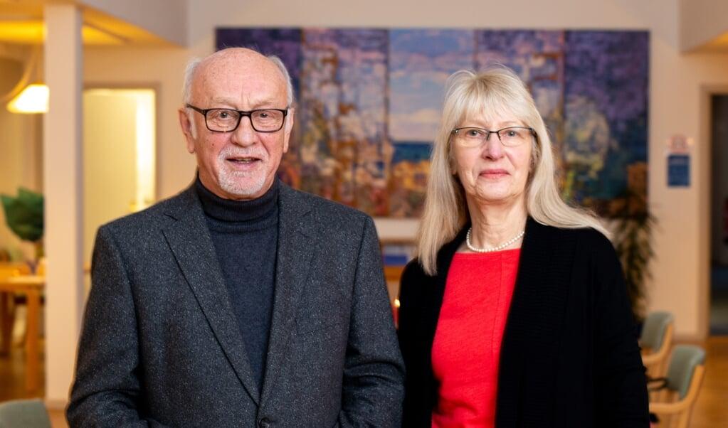 Årets modtagere af Sydslesvig-prisen: Helga og Holger Balbierski, Holtenå. De får prisen for fire årtiers indsats for danskheden i Kiel-forstaden Holtenå.  SSF  (SSF)