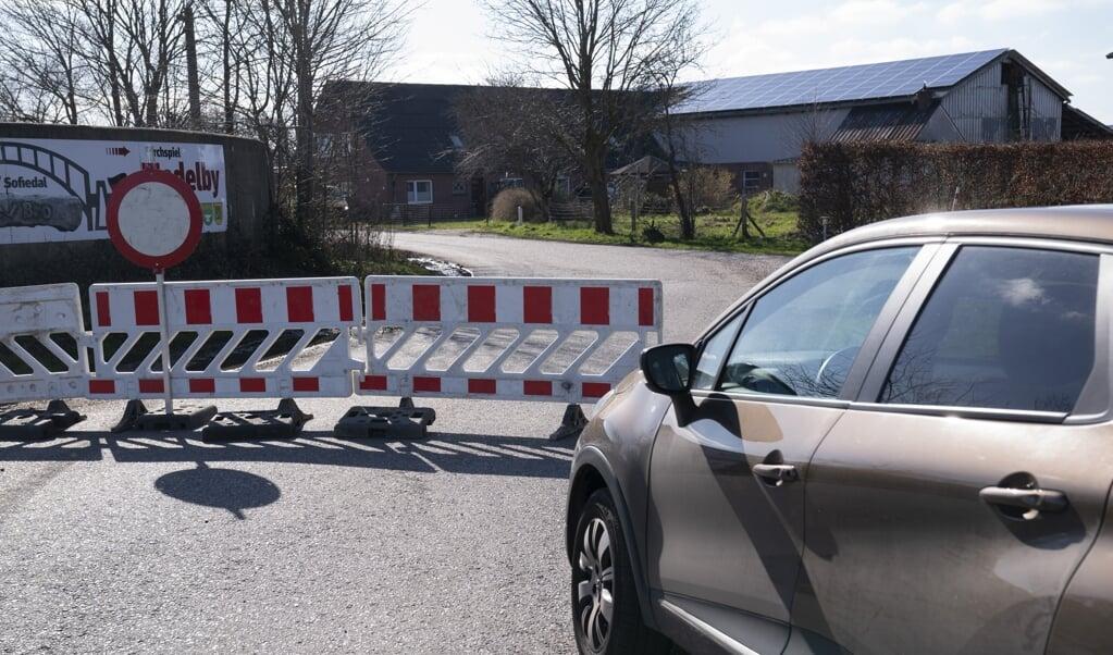 Nu lukker Danmark for anden gang under coronakrisen en række mindre grænseovergange.   ( Claus Fisker/Ritzau Scanpix)