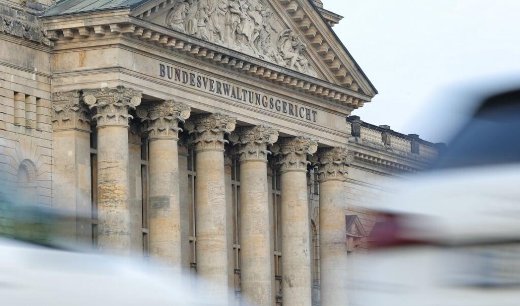 <p>Forvaltningsdomstolen i Leipzig.  Jan Woitas/ZB/dpa +++ dpa-Bildfunk +++</p>  (dpa)