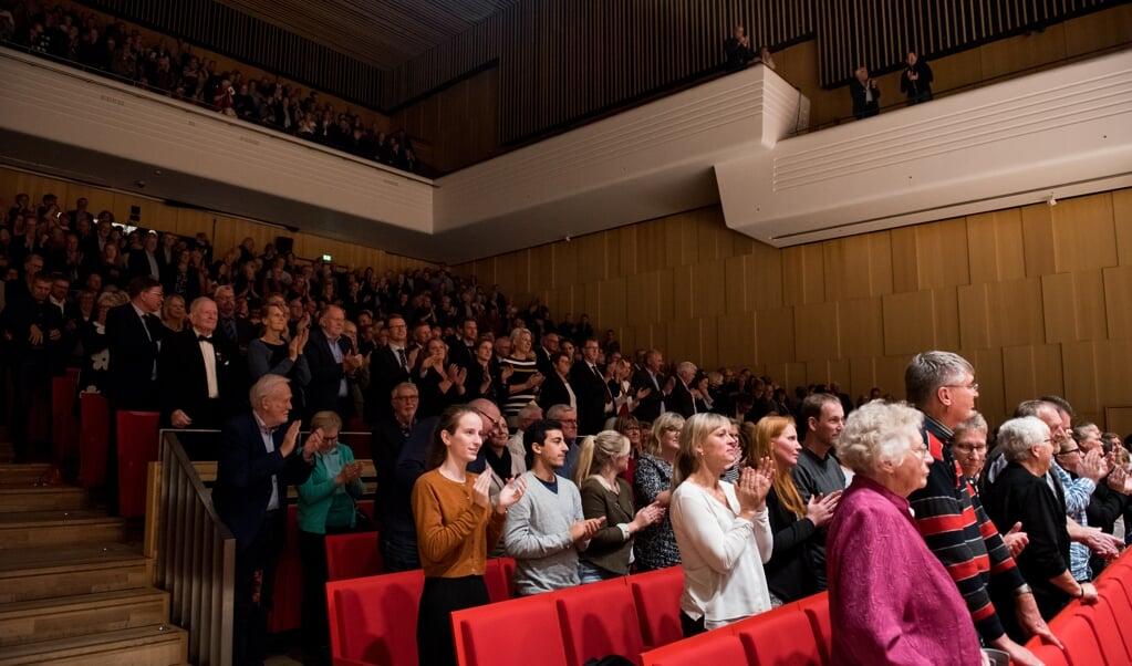 Et foto fra bedre tider: Der skal nu være mere plads mellem de enkelte tilskuere i koncertsalen i Alsion. Fotos: Patricio Soto  (Patricio Soto)