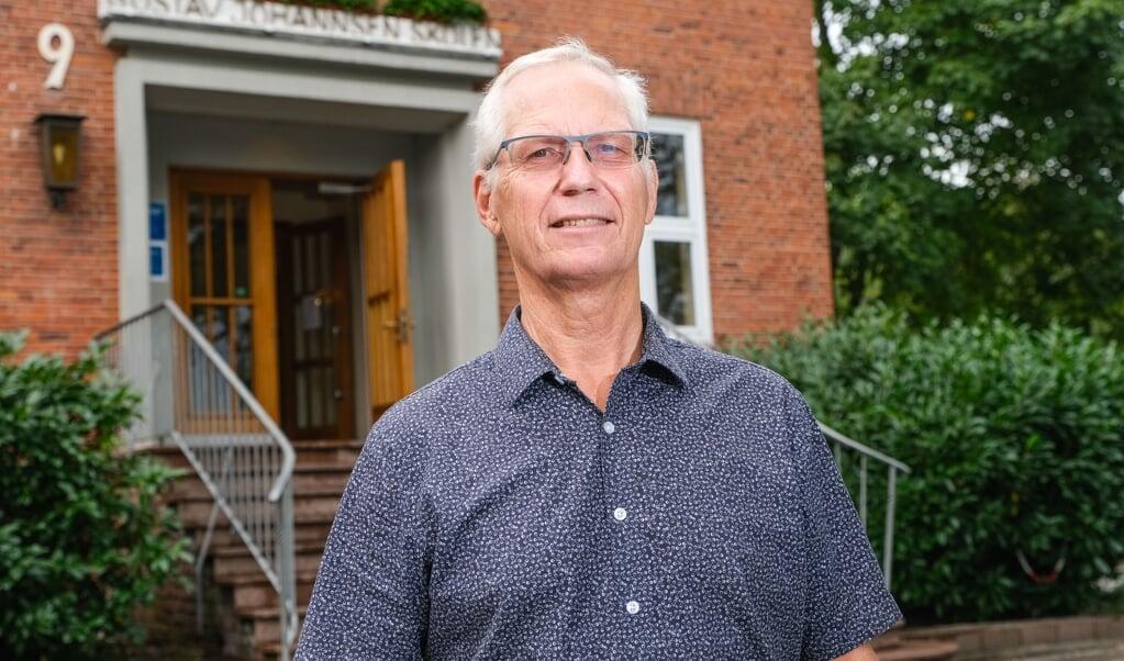 <p>Ole Uth kommer til at savne Gustav Johannsen-Skolen &raquo;med alt, den indeholder&laquo;, n&aring;r han g&aring;r p&aring; pension. Skoleinspekt&oslash;rens sidste dag p&aring; skolen er mandag den 31. august.&nbsp;</p>  ( Sven Gei&szlig;ler)