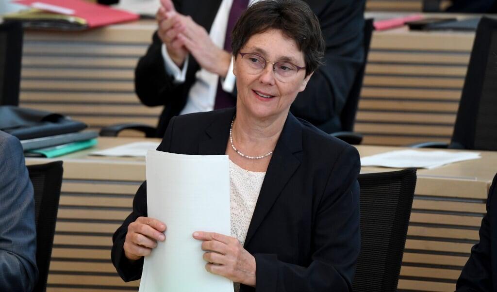 Monika Heinold (Bündnis 90/Die Grünen), Finanzministerin von Schleswig-Holstein, fordert ein Klimaschutzfond.     (Carsten Rehder, dpa)