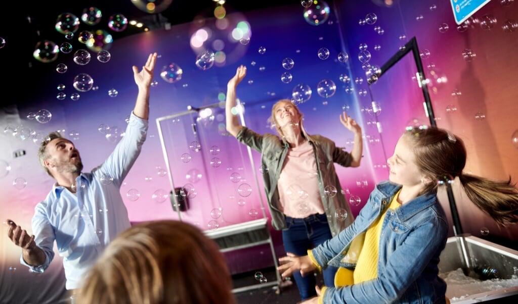 Universe Science Park åbner først i slutningen af april.   (Lasse Hyldager)