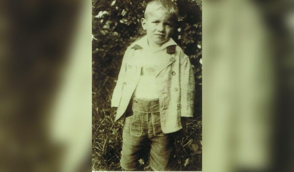 Ernst Lossa som tre-årig - da han endnu levede sammen med sine forældre.  (Privat)