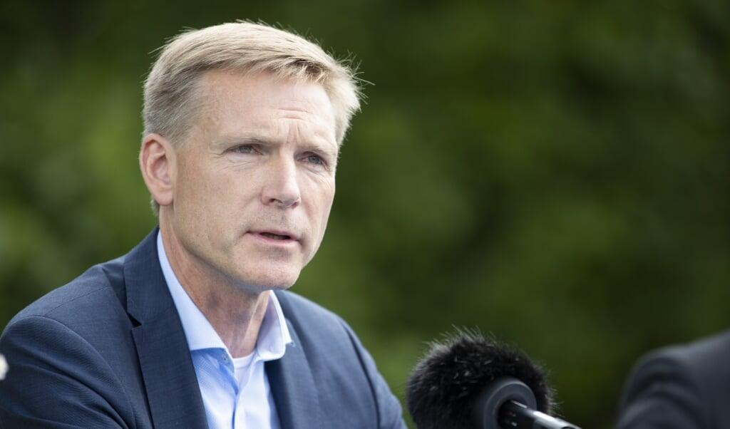 <p>Danmark skal kunne rejse et hegn ved gr&aelig;nsen til Tyskland, mener Kristian Thulesen Dahl.</p>  ( Frank Cilius/Ritzau Scanpix)