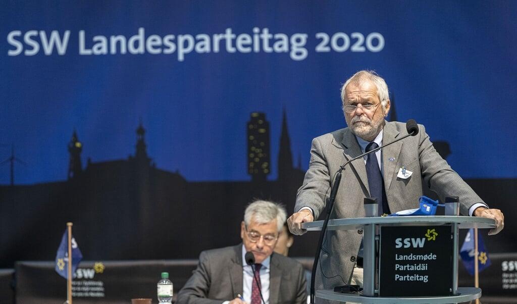 På SSWs landsmøde den 23. oktober forlader Flemming Meyer posten som SSWs formand. En ny skal her vælges.    (Lars Salomonsen)