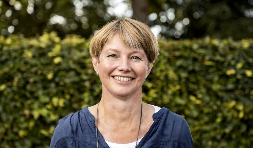 Merethe Neldeberg Jørgensen er med i Familiepanelet i KomMit. Hun er sognepræst i Ansgar Kirke i Flensborg.  ( Lars Salomonsen.)