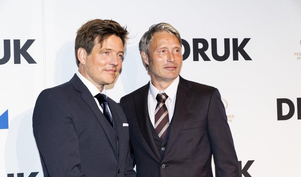 Regisseur Thomas Vinterberg (links) und Schauspieler Mads Mikkelsen.   ( Ida Marie Odgaard/Ritzau Scanpix)