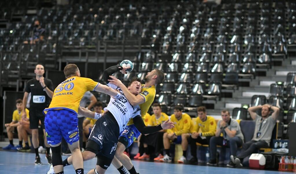 <p>Gøran S. Johannessen leitete den Sieg ein und setzte den Schlusspunkt.</p>  (Tim Riediger)