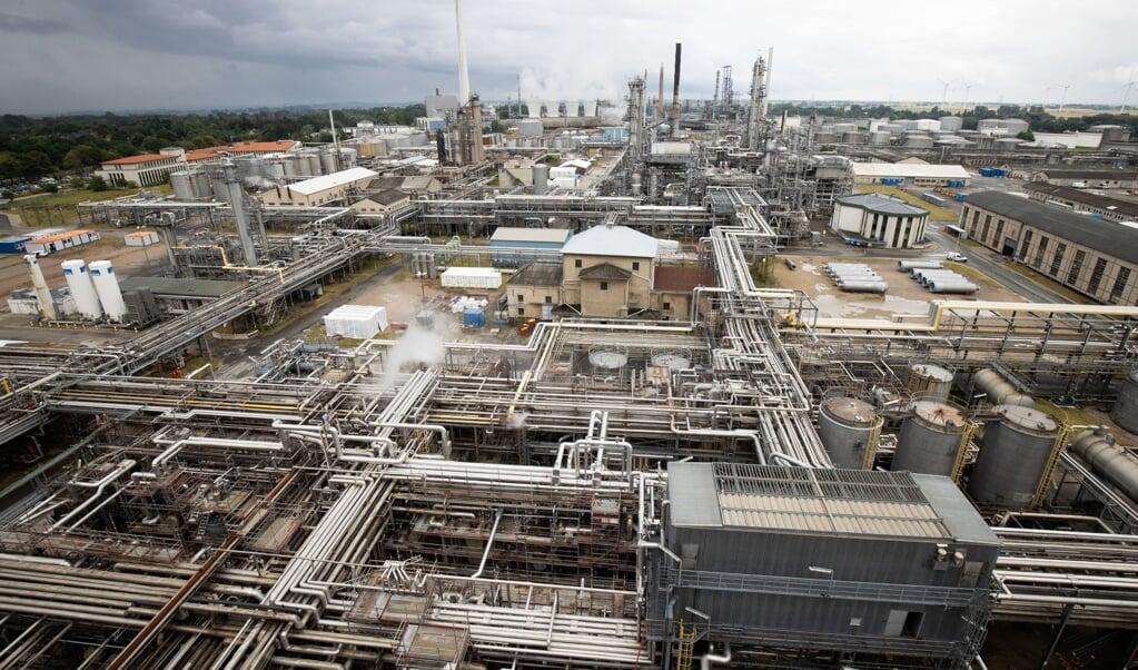 Virksomheden Raffinerie Heide i Hemmingstedt. Slesvig-Holsten har brug for flere industri- og teknologivirksomheder.  ( Christian Charisius/dpa/Pool/dpa)