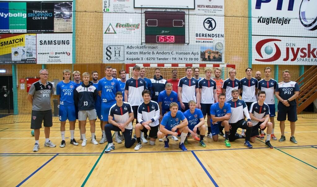 TM Tønder og SG Flensburg-Handewitt er indgået et nyt samarbejde.   (FlA)